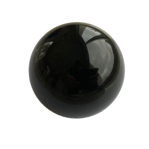 esfera obsidiana negra