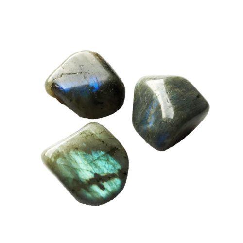 piedra rodada labradorita