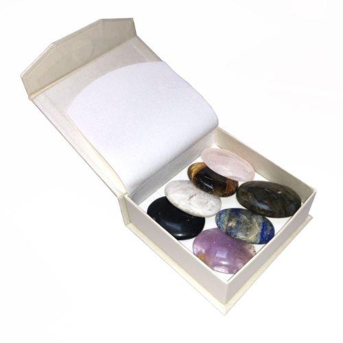caja piedras para el pulgar 7 chakras