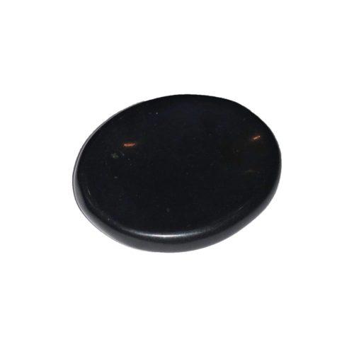 piedra para el pulgar obsidiana negra