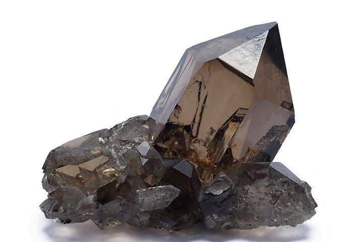 piedra cuarzo ahumado