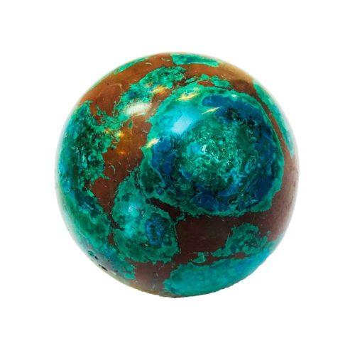 esfera crisocola