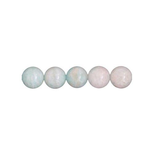 hilo amazonita piedras bolas 6mm
