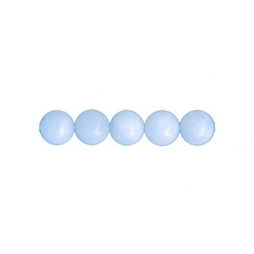 perla redonda aguamarina 6mm