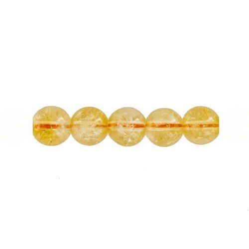 perla redonda citrino 8mm