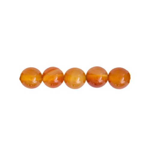 perla redonda cornalina 12mm