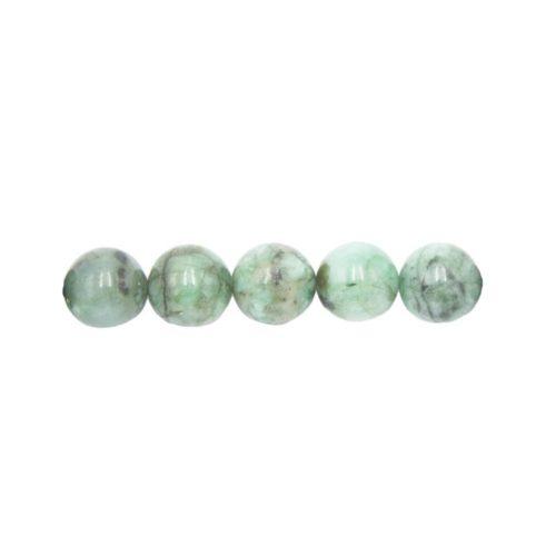 perla redonda esmeralda 8mm