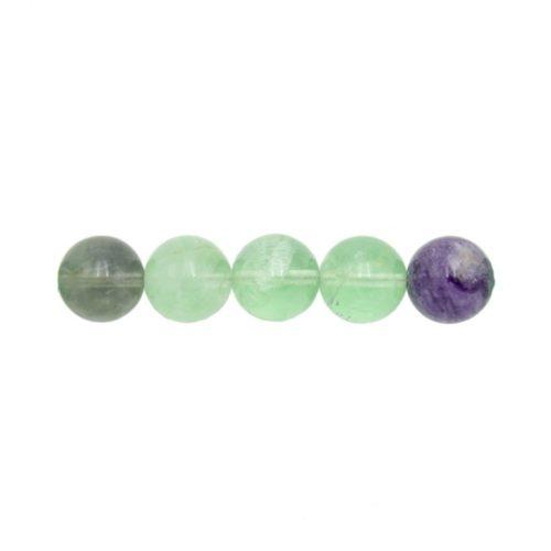 perla redonda fluorina multicolor 12mm