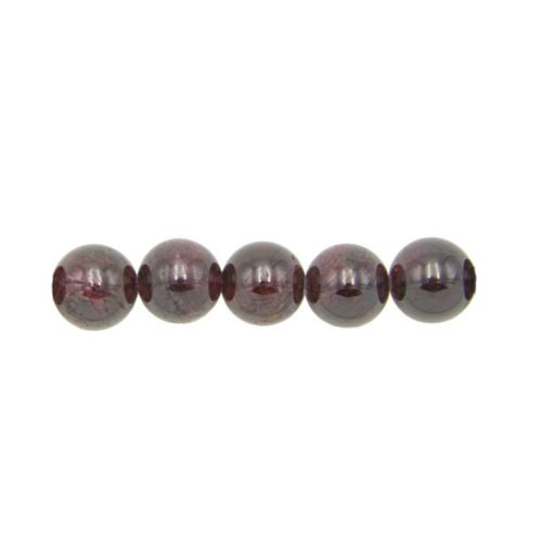 perla redonda granate rojo 10mm