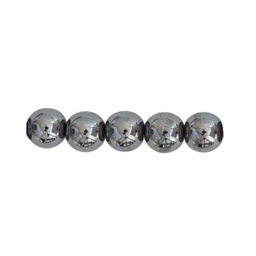 perla redonda hematita 10mm