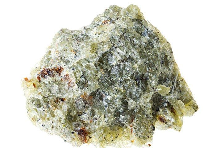 Piedra olivina