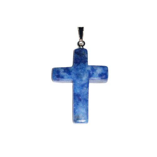 colgante sodalita cruz