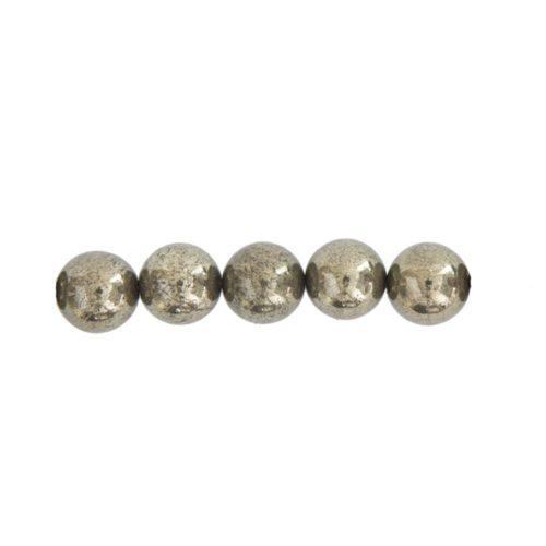 perla pirita de hierro 8mm