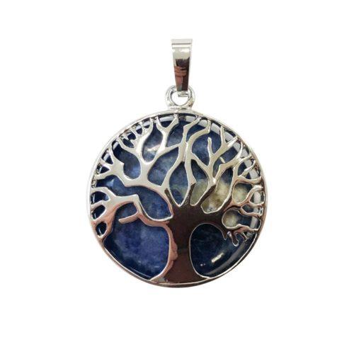 colgante sodalita árbol de la vida