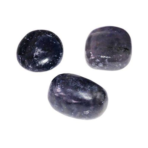 piedra rodada iolita