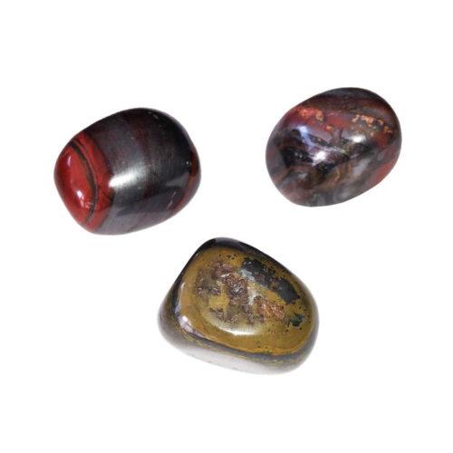 piedra rodada ojo de hierro