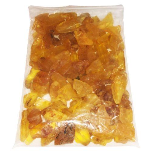 bolsa piedras rodadas ámbar 1kg