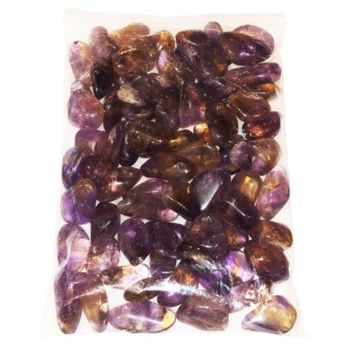 bolsa piedras rodadas ametrina 1kg