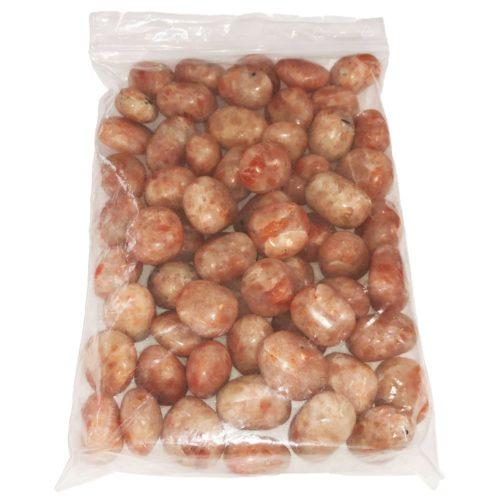 bolsa de piedras rodadas heliolita 1kg