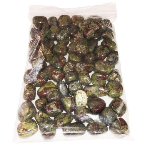 bolsa piedras rodadas jaspe sanguíneo 1kg