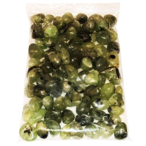 bolsa piedras rodadas prehnita