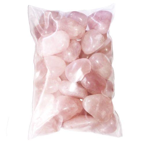 Bolsa piedras cuarzo rosa