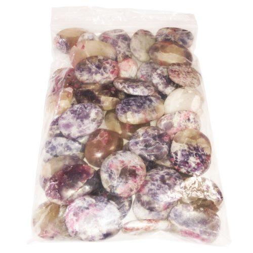 bolsa piedras rodadas rubelita 1kg