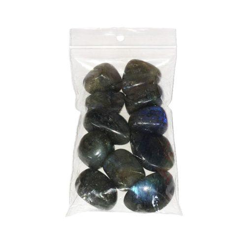 bolsa piedras rodadas espectrolita 250grs