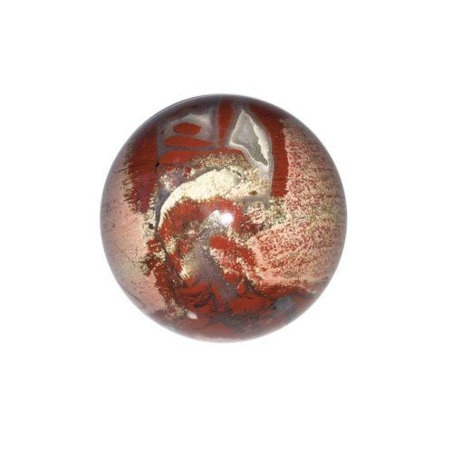 esfera jaspe brechado 40mm