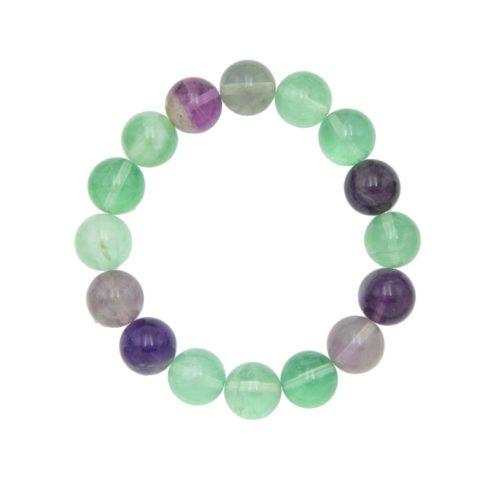 pulsera fluorina multicolor 12mm