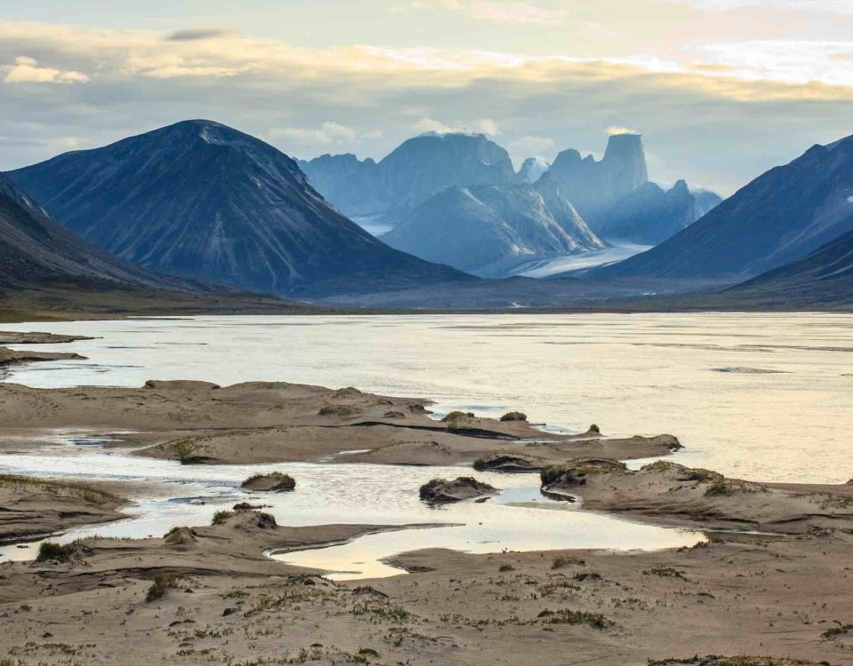 Isla de Baffin, en Canadá