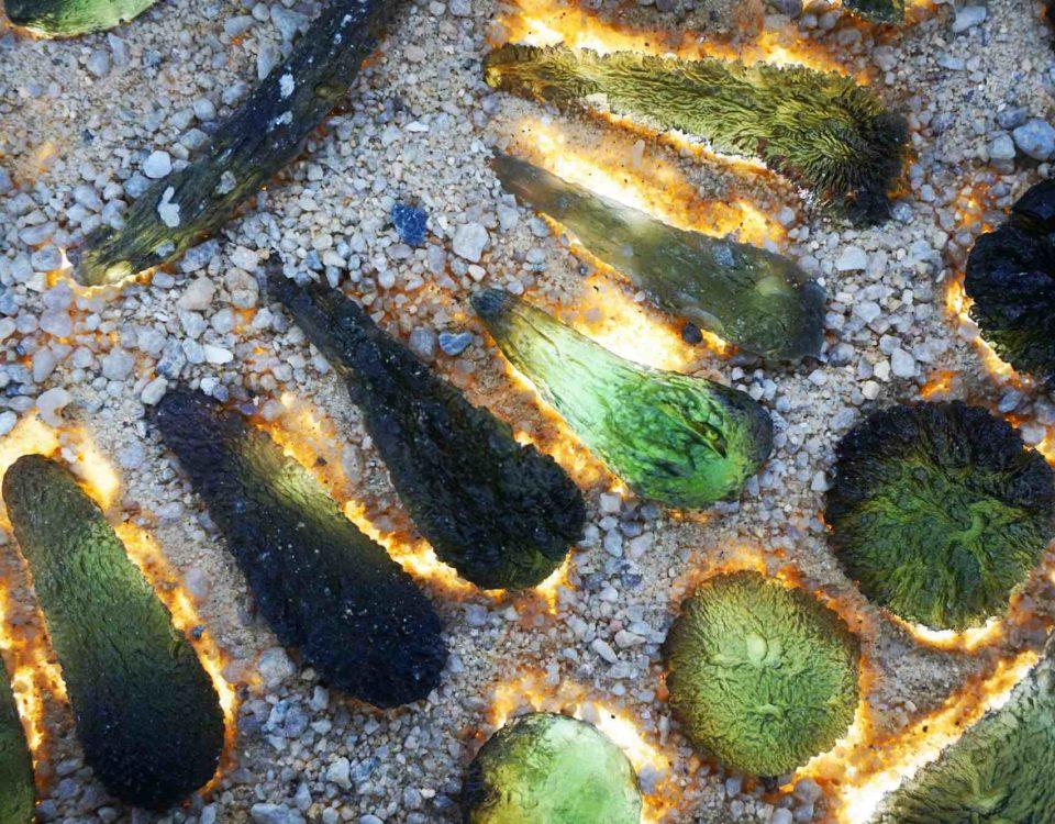 piedra moldavita piedra extraterrestre
