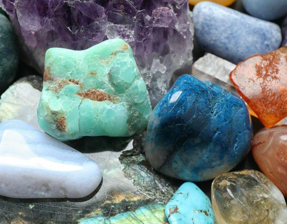 recarga de las piedras