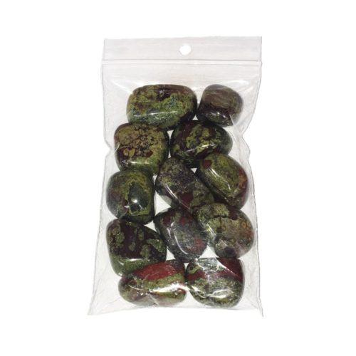 bolsa piedras rodadas piedras de sangre 250grs