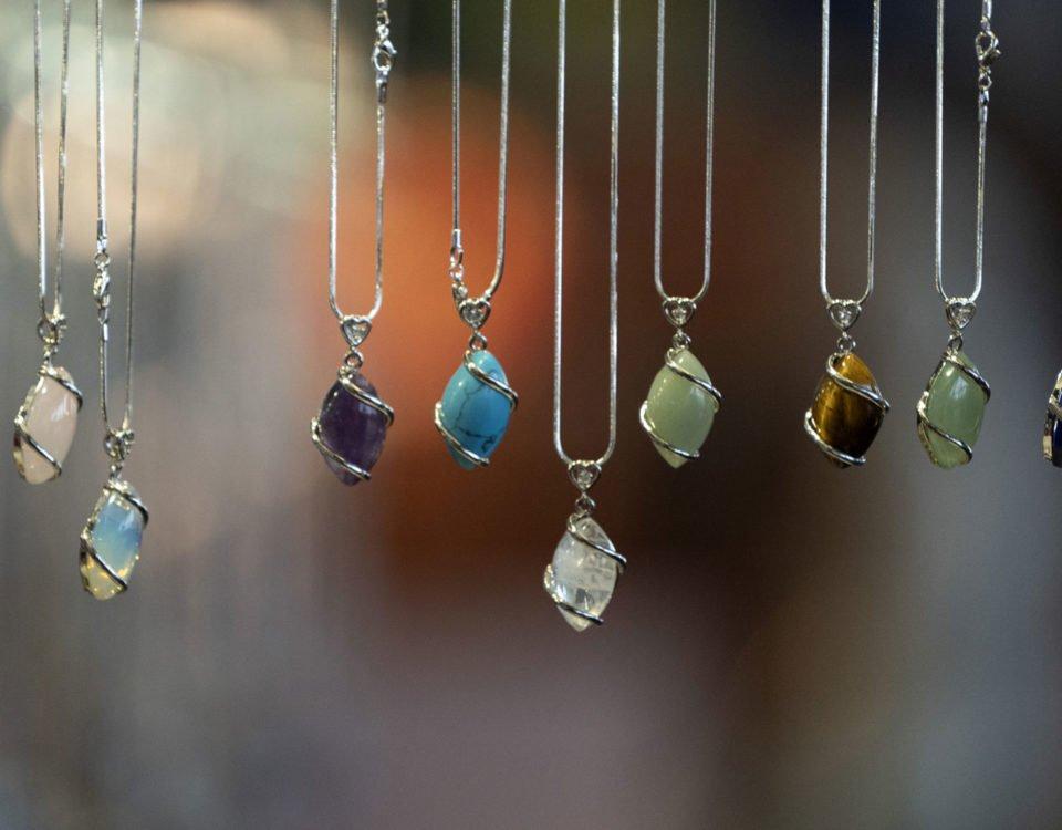 las joyas de piedras energéticas