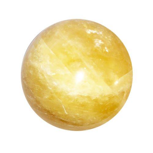 Esfera Calcita naranja