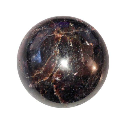Esfera Granate rojo