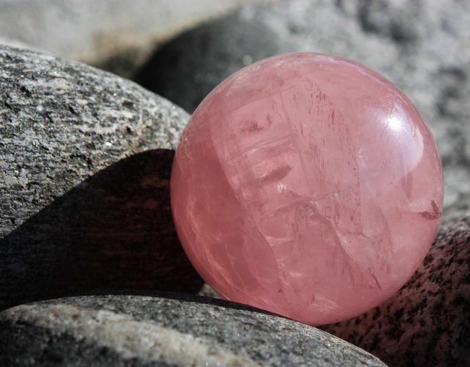 Cómo purificar el cuarzo rosa