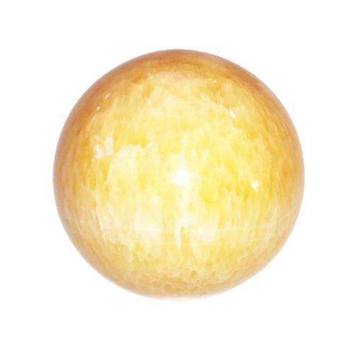 esfera fluorita amarilla 55mm
