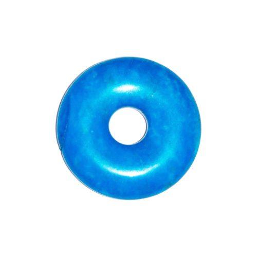 pi chino donut howlita azul 20mm