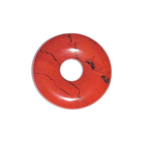 pi chino donut jaspe rojo 20mm