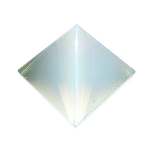 pirámide de ópalo sintético 60mm