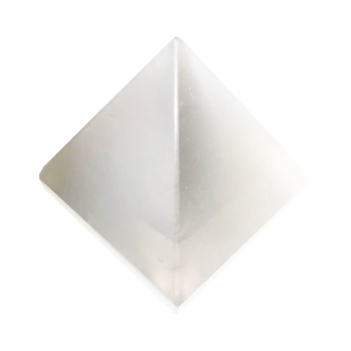 pirámide selenita 60mm