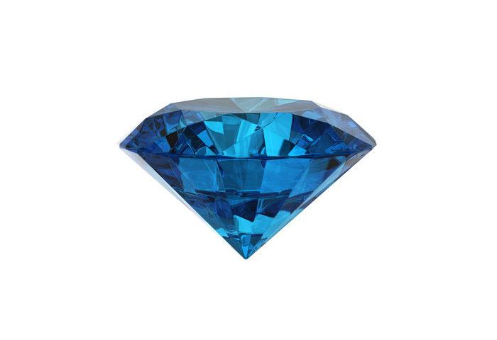 piedra diamante azul