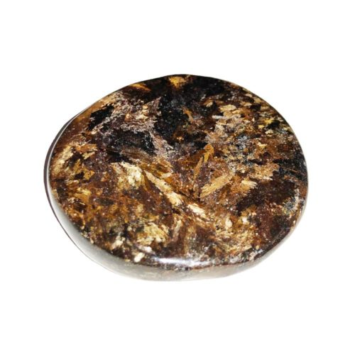 Piedra plana Bronzita