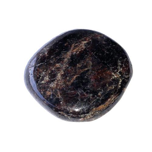 Piedra plana Granate rojo