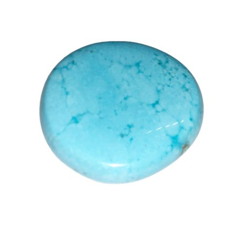 Piedra plana Howlita azul