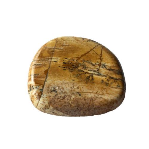 Piedra plana Jaspe paisaje