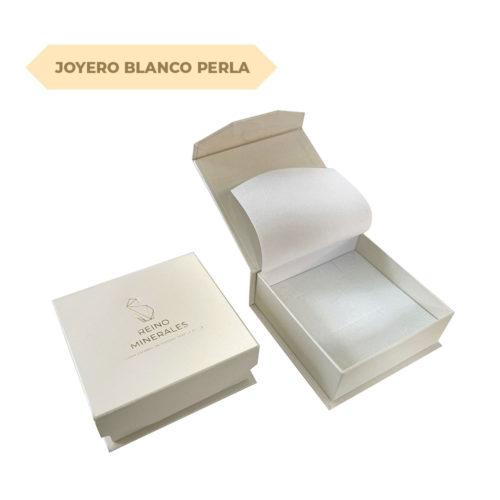 joyero blanco perla reino minerales