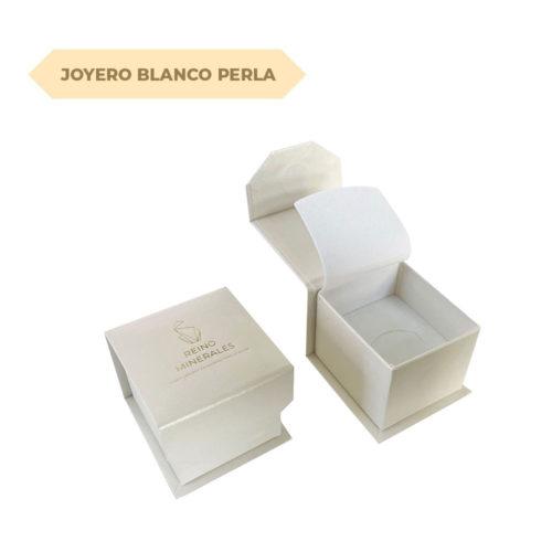 joyero blanco perla s